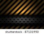 Technology Vector Background - stock vector