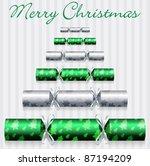 Green Merry Christmas Cracker...