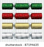 Bright Plaid  Tartan  Christma...