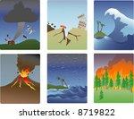 miniature vector illustrations... | Shutterstock . vector #8719822