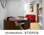 interior design  modern living...   Shutterstock . vector #87209326