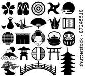 japanese icons