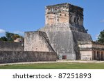 chichen itza in mexico | Shutterstock . vector #87251893