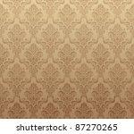 vector illustration of brown... | Shutterstock .eps vector #87270265