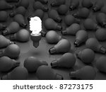 it's time for energy saving... | Shutterstock . vector #87273175