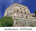 The Norman's Royal Palace in Palermo, Sicily. exterior - stock photo