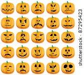 Halloween Pumpkins As Jack O...