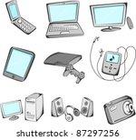 a vector illustration of... | Shutterstock .eps vector #87297256