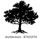 tree | Shutterstock .eps vector #87322576