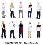 Group Of Chef Man And A...
