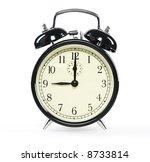 alarm clock  isolated on white | Shutterstock . vector #8733814