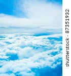 Clouds and skies - stock photo