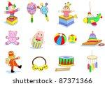 toy   Shutterstock .eps vector #87371366