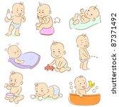baby | Shutterstock .eps vector #87371492