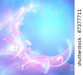 raster abstract shiny blue... | Shutterstock . vector #87377711