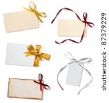 collection of  various card... | Shutterstock . vector #87379229