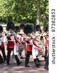 london   june 17  queen's bands ...   Shutterstock . vector #87382853