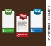 presentation design | Shutterstock .eps vector #87383849