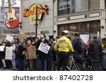 toronto   october 16 ... | Shutterstock . vector #87402728