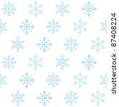 seamless christmas background ... | Shutterstock . vector #87408224