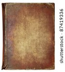 Old Book Cover  Vintage Textur...