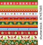 christmas background | Shutterstock .eps vector #87457685