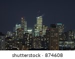 the toronto skyline at night. | Shutterstock . vector #874608