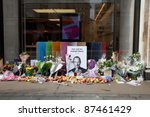 London   October 9  Shrine To...