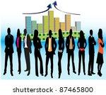 business people | Shutterstock .eps vector #87465800