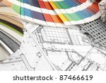 palette of colors designs for... | Shutterstock . vector #87466619
