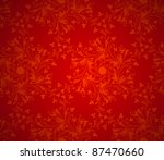 christmas red background... | Shutterstock .eps vector #87470660