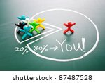 best profits for you. the... | Shutterstock . vector #87487528