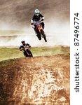 Постер, плакат: V Brikun 24 flies through the