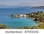 tzasteni  pelion  thessaly ... | Shutterstock . vector #87553141