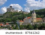 st anne church from vetrkovice... | Shutterstock . vector #87561262