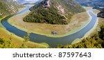 Panorama Of River To Skadarsko...
