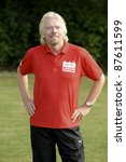 Small photo of Richard Branson at the launch of the Virgin Active London Triathlon celebrity team, Acton, London. 07/06/2011 Picture by: Steve Vas / Featureflash