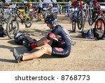 rio bravo rumble  biathlon for... | Shutterstock . vector #8768773