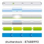 web navigation templates 03 | Shutterstock .eps vector #87688993