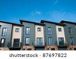 modern new housing   england | Shutterstock . vector #87697822