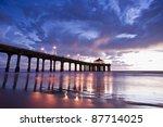 Manhattan Beach Pier Colorful...