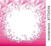 pink star background | Shutterstock .eps vector #87724246