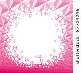 pink star background | Shutterstock .eps vector #87724246