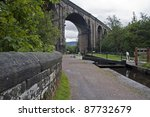 Viaduct Over The Huddersfield...