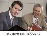 young businessman with... | Shutterstock . vector #8773342