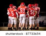 high school football team | Shutterstock . vector #87733654