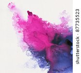 Постер, плакат: Abstract stain watercolors colors