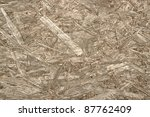 abstract wooden pressboard detail - stock photo