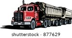 construction and mining truck....   Shutterstock .eps vector #877629