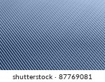 abstract full frame pattern showinh a blue toned metal grill - stock photo
